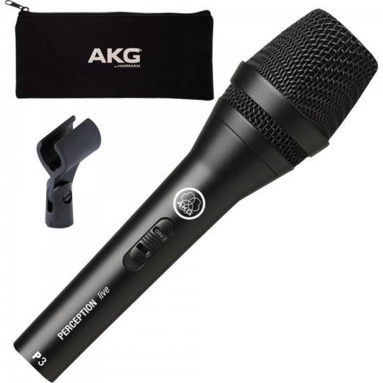 Microfone Perception 3S Preto AKG (47352)