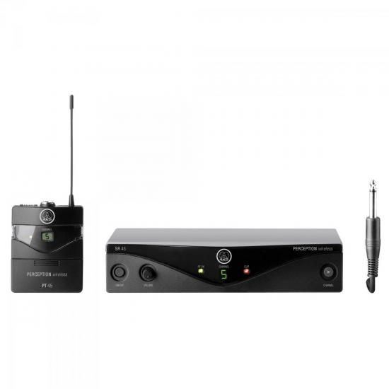 Sistema Wireless PW45 ISET B2 Preto AKG (47386)