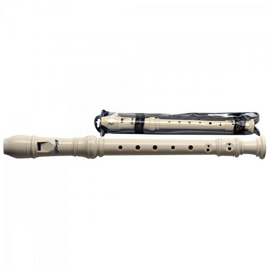 Flauta Doce Soprano Barroca C (Dó) STAGG (47805)