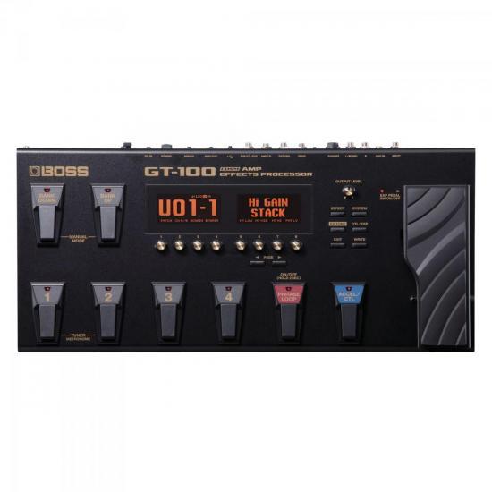 Processador de Efeitos e Amplificadores GT-100 Preto BOSS (47981)
