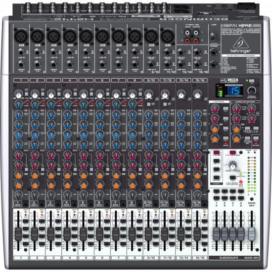 Mixer Xenyx X2442USB 24 Canais BEHRINGER
