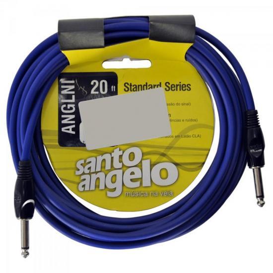 Cabo Para Instrumentos P10 ANGL NI 6,10m Azul SANTO ANGELO