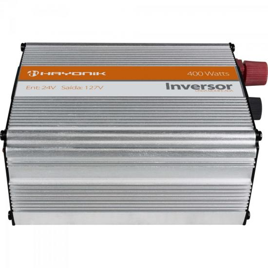 Inversor Onda Modificada 24VDC/127V USB 400W HAYONIK