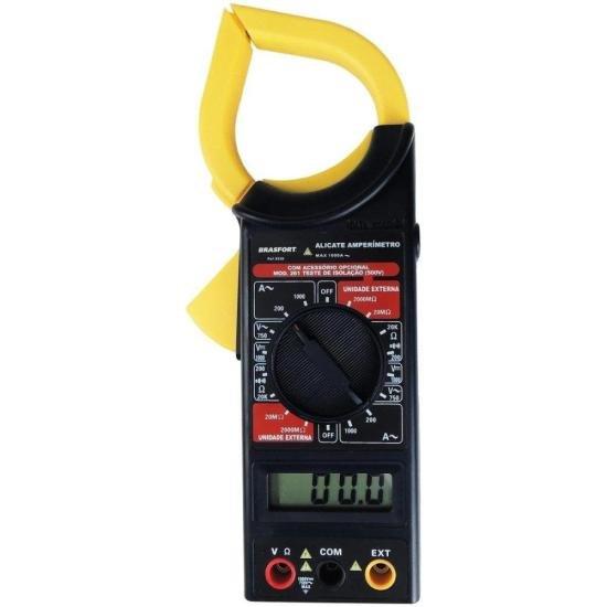 Alicate Amperímetro Digital com Estojo 8559 BRASFORT (49412)