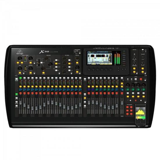 Mesa de Som Digital 32 Canais X32 BEHRINGER (49699)