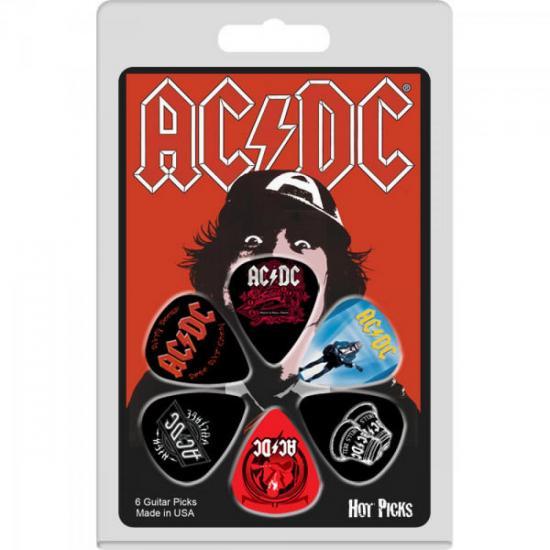Palheta AC/DC 03 6ADRCS03 HOT PICKS (50324)