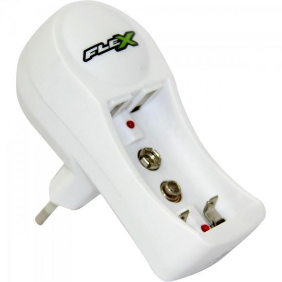 Carregador de Pilha AA/AAA e Bateria 9V Bivolt FXC11 FLEX (50440)