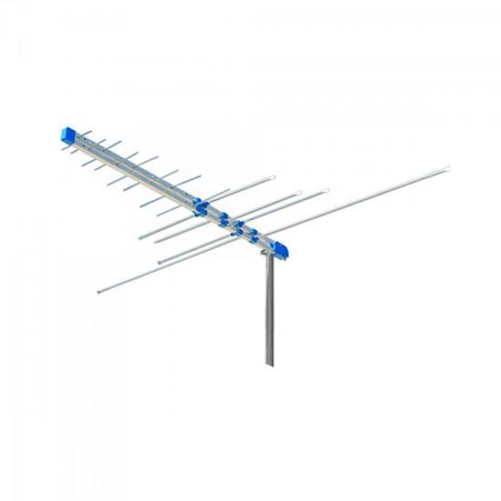 Antena Externa VHF-FM/UHF/Digital 14DBI PROHD-3000 PROELETRONIC