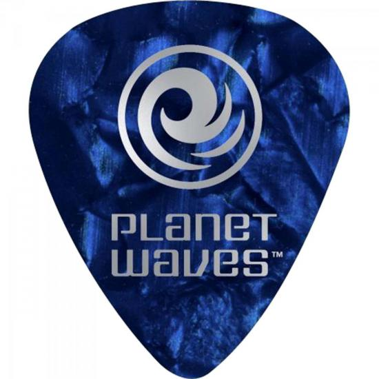 Palheta Celulóide Light Perolada 1CBUP2 Azul PLANET WAVES