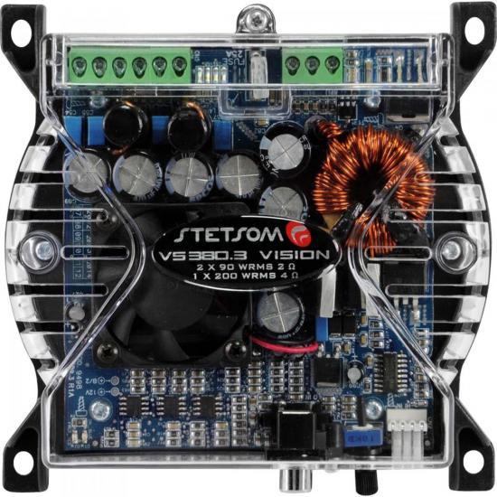Módulo 380W 2 Ohms VISION VS380.3 STETSOM