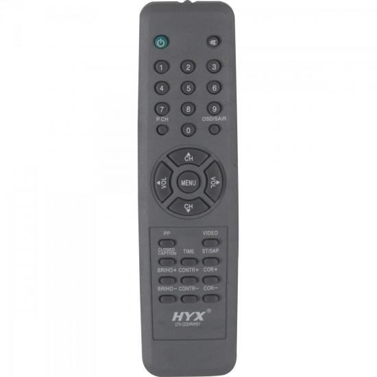 Controle Remoto para TV CCE/PHILIPS CTV-CCE/PHP01 Cinza HYX