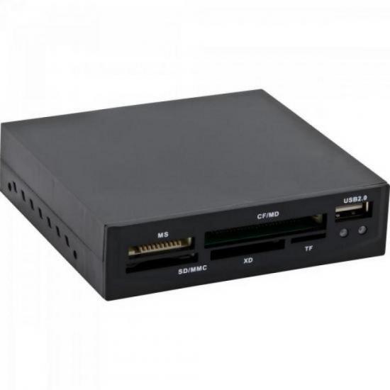 Leitor de Cartão de Memória USB 11 em 1 LDC-201 FORTREK