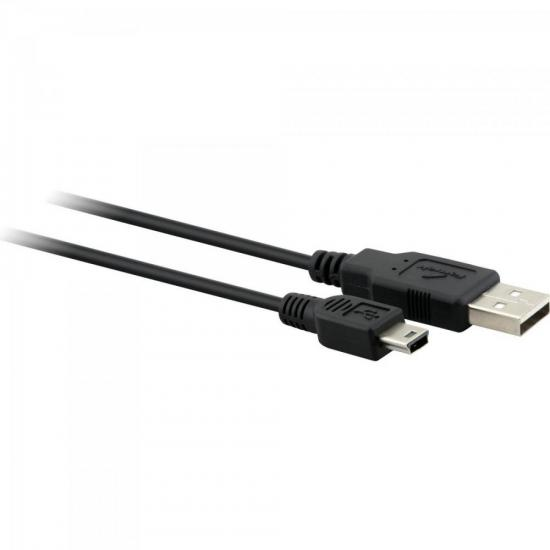 Cabo Mini USB A Macho x USB A Macho 1,8 Metros USM-101 Preto FORTREK