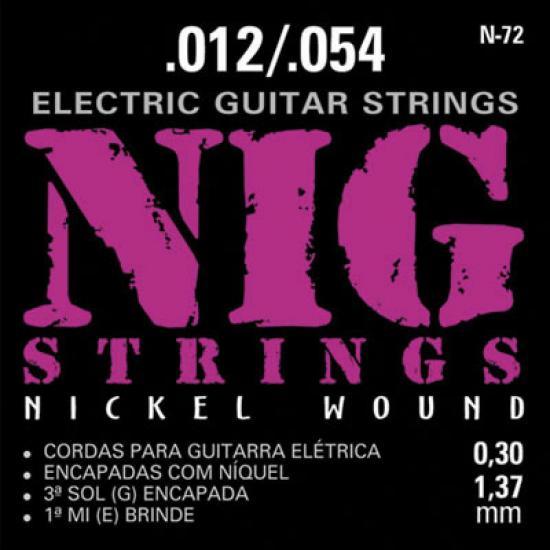 ENC P/Guitarra 0.12 N72 NIG STRINGS (52266)