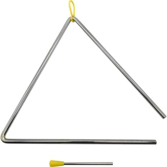 Triângulo de Aço Cromado TR25 LIVERPOOL
