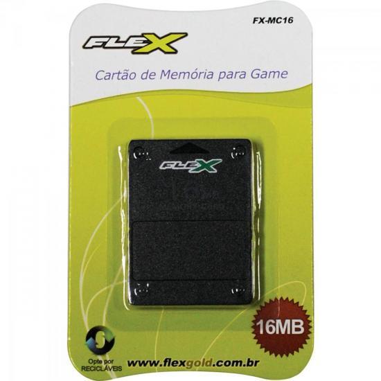 Cartão de Memória Playstation2 16MB Preto FXMC16 FLEX (52790)