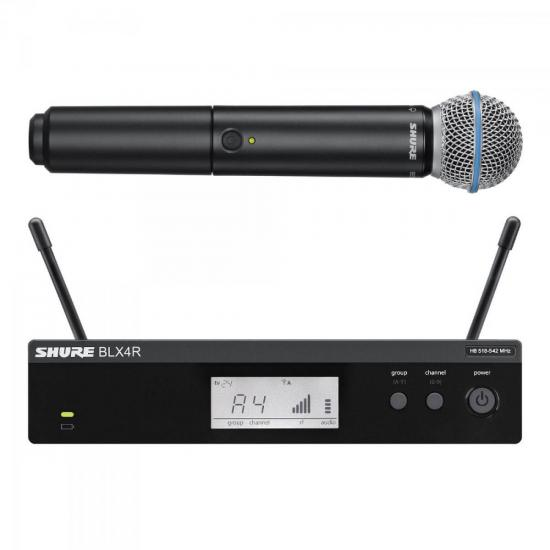 Sistema de Microfone Sem Fio BLX24RBR/BETA58 SHURE