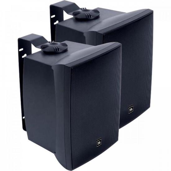 Par de Caixa Acústica Som Ambiente 50W C621P Preto JBL (52816)
