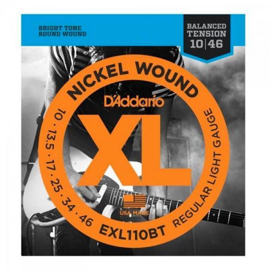 Encordoamento Para Guitarra EXL110BT 0.10 D'ADDARIO
