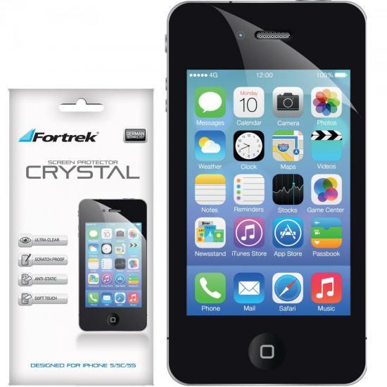 Película Protetora para iPhone 5/5S/5C ISP-103 Crystal FORTREK