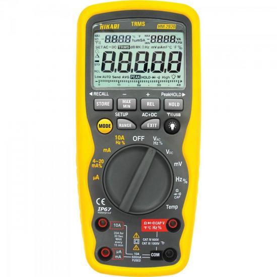Multímetro Digital HM 2920 HIKARI
