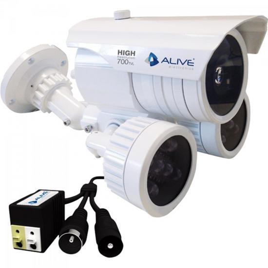 Câmera Infravermelho 80M CCD Colorido SONY AL-CIR780 ALIVE