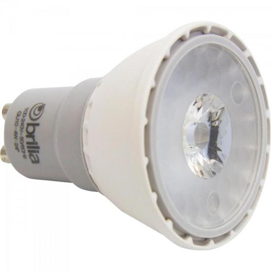 Lampada Dicroica LED GU10 4W Branca BRILIA (53983)