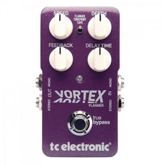 Pedal Guitarra VORTEX FLANGER TC ELETRONIC (53988)