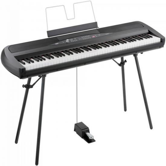Piano Digital SP-280BK com Fonte Preto
