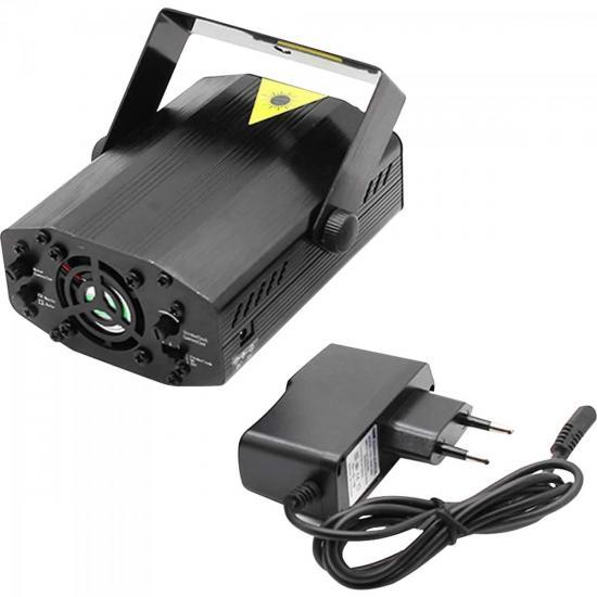 Laser Super Compacto MINI LASER RG Multipontos Verde/Vermelho PLS (54597)