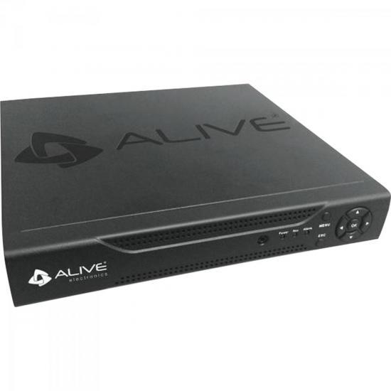 DVR Gravador Digital 8 Canais com HDMI ALDVR3008S ALIVE (54610)