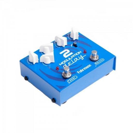 Pedal de Efeitos MD02 Azul FUHRMANN