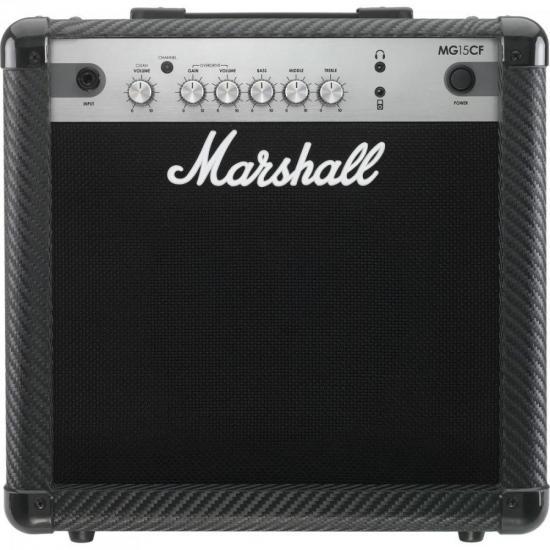 Cubo para Guitarra 15W MG15 CFB Preto MARSHALL