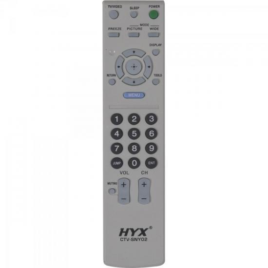 Controle Remoto para TV LCD SONY CTV-SNY02 HYX (55771)