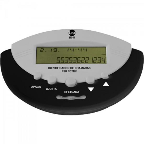 Identificador de Chamadas LHD0001 Preto LIG (55961)