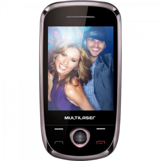 Celular 3 Chips, Touch N, Câmera 1.3MP, TV Digital, MP3, Rádio FM, (56114)