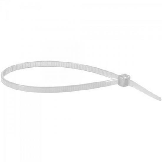 Abraçadeira Nylon 3,6 x 150mm Branco BRASFORT