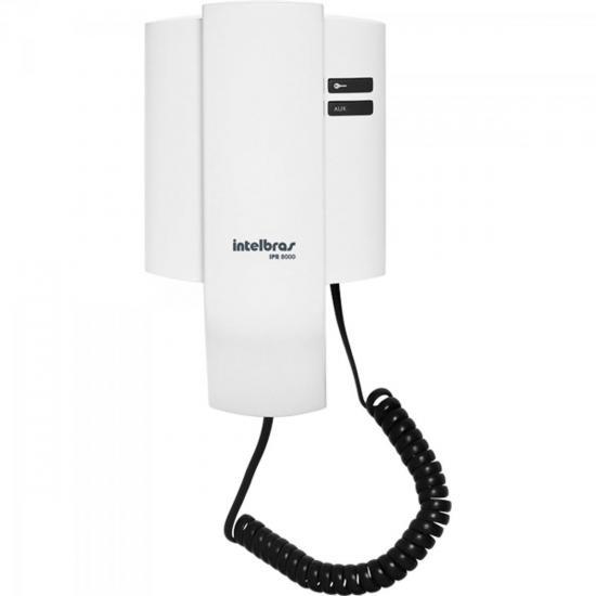 Porteiro Eletrônico Residencial IPR8000 Branco INTELBRAS