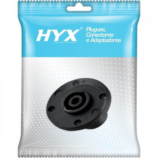 Conector Speakon Fêmea 4 Pólos HP017 HYX (56455)