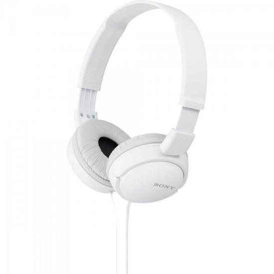 Fone de Ouvido Dobrável MDR-ZX110 Branco