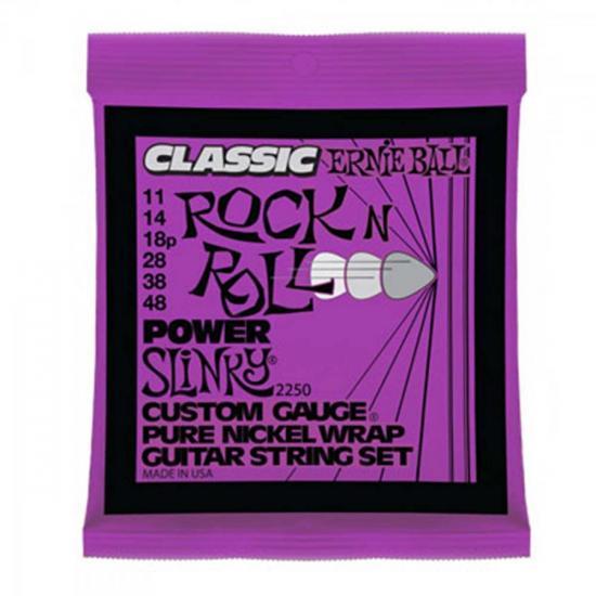 Encordoamento Para Guitarra Aço 0.11 2250 CLASSIC POW ERNIE BALL