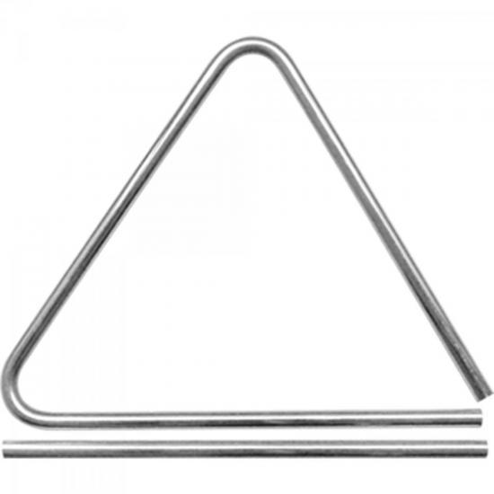 Triângulo Alumínio 15cm TRATN15 Cromado LIVERPOOL (57318)