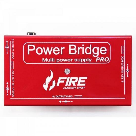 Fonte de Alimentação POWER BRIDGE PRO Vermelha FIRE (57703)
