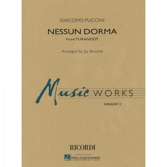 Nessun Dorma No One Sleeps Score Parts ESSENCIAL ELEMENTS