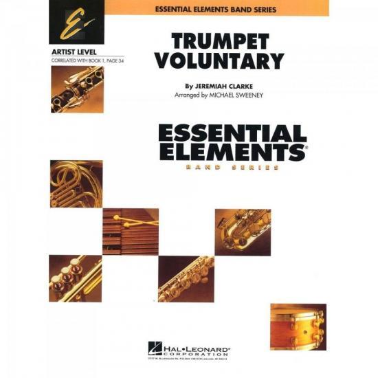 Grade de Partituras Trumpet Voluntary Score Parts ESSENCIAL ELEMENTS