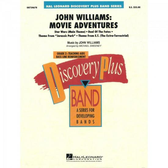 John Williams Movie Adventures Score Parts ESSENCIAL ELEMENTS