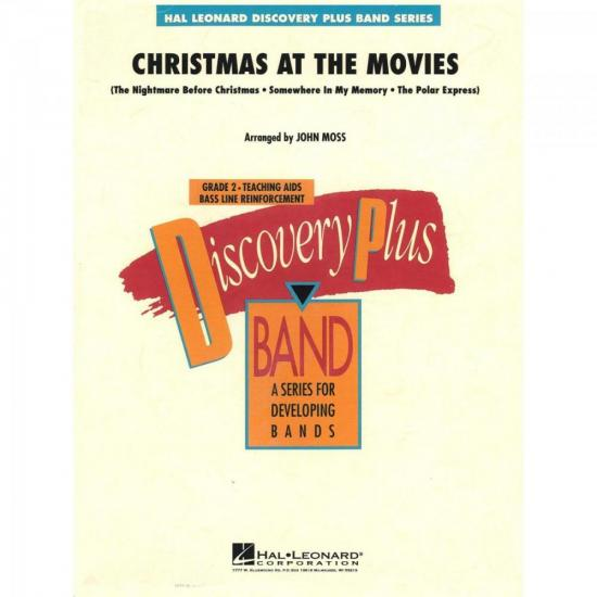 Christmas at the Movies Score Parts ESSENCIAL ELEMENTS