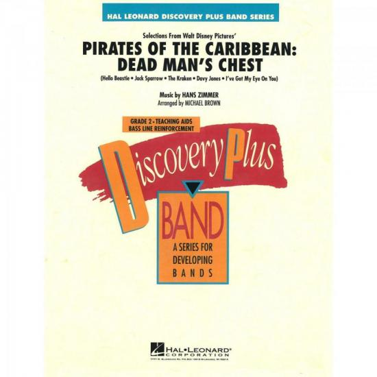 Pirates of the Caribbean Dead Score Parts ESSENCIAL ELEMENTS