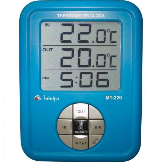 Termômetro MT220 Azul MINIPA