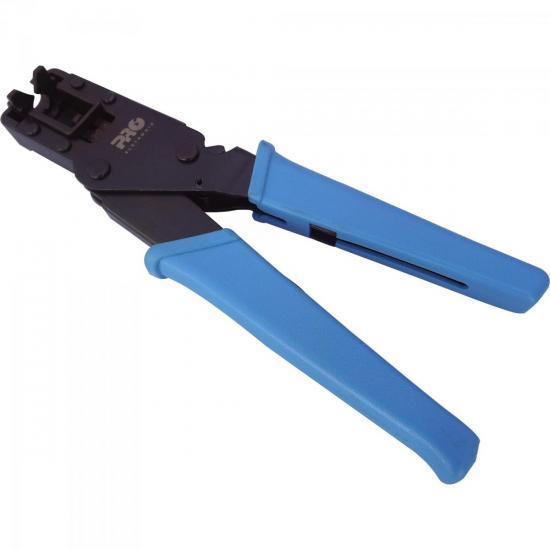 Alicate de Compressão 20,3mm PROFT-0016 Preto/Azul PROELETRONIC